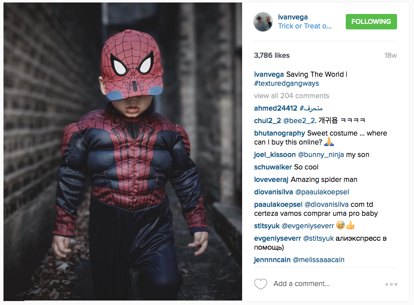 Instagram Influencer - Ivan Vega