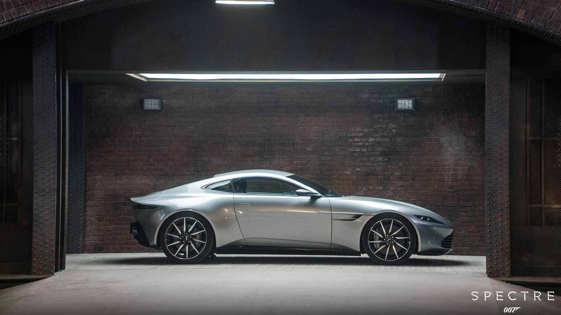 James Bond Spectre - Aston Martin Brands Movies