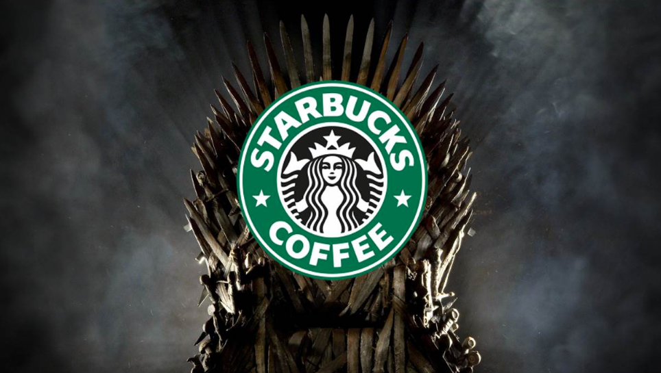 Starbucks brand integration in Game of Thrones worth billions