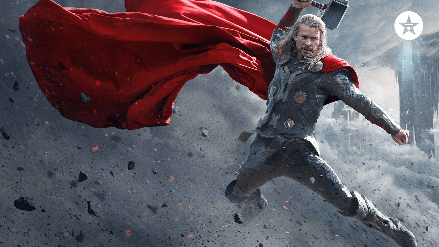 avengers thor zoom background