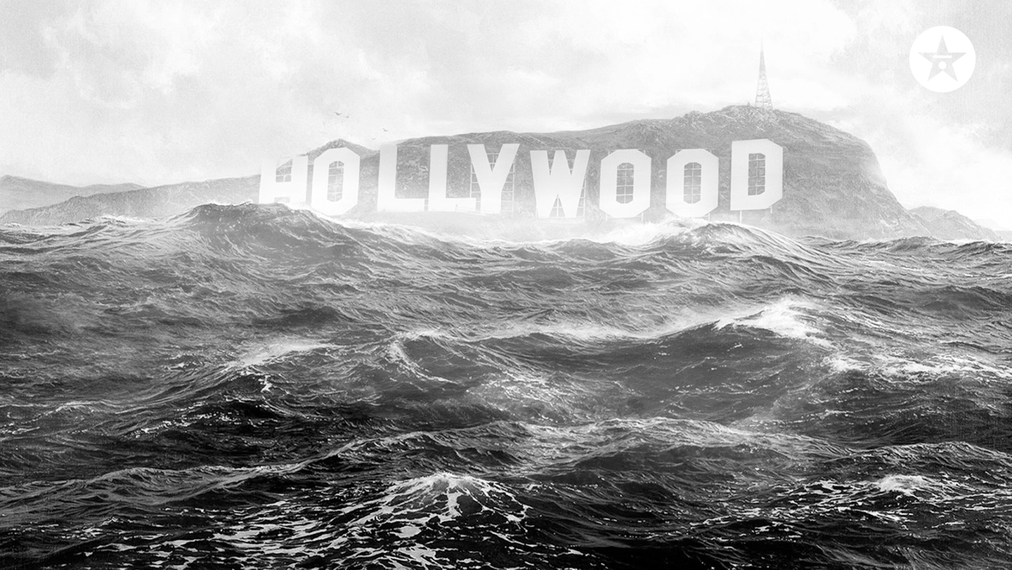 hollywood underwater zoom background