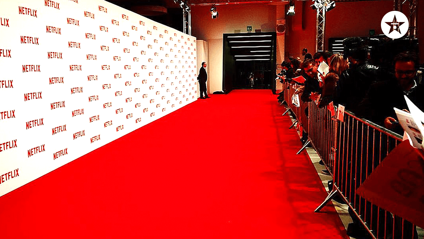 netflix red carpet zoom background