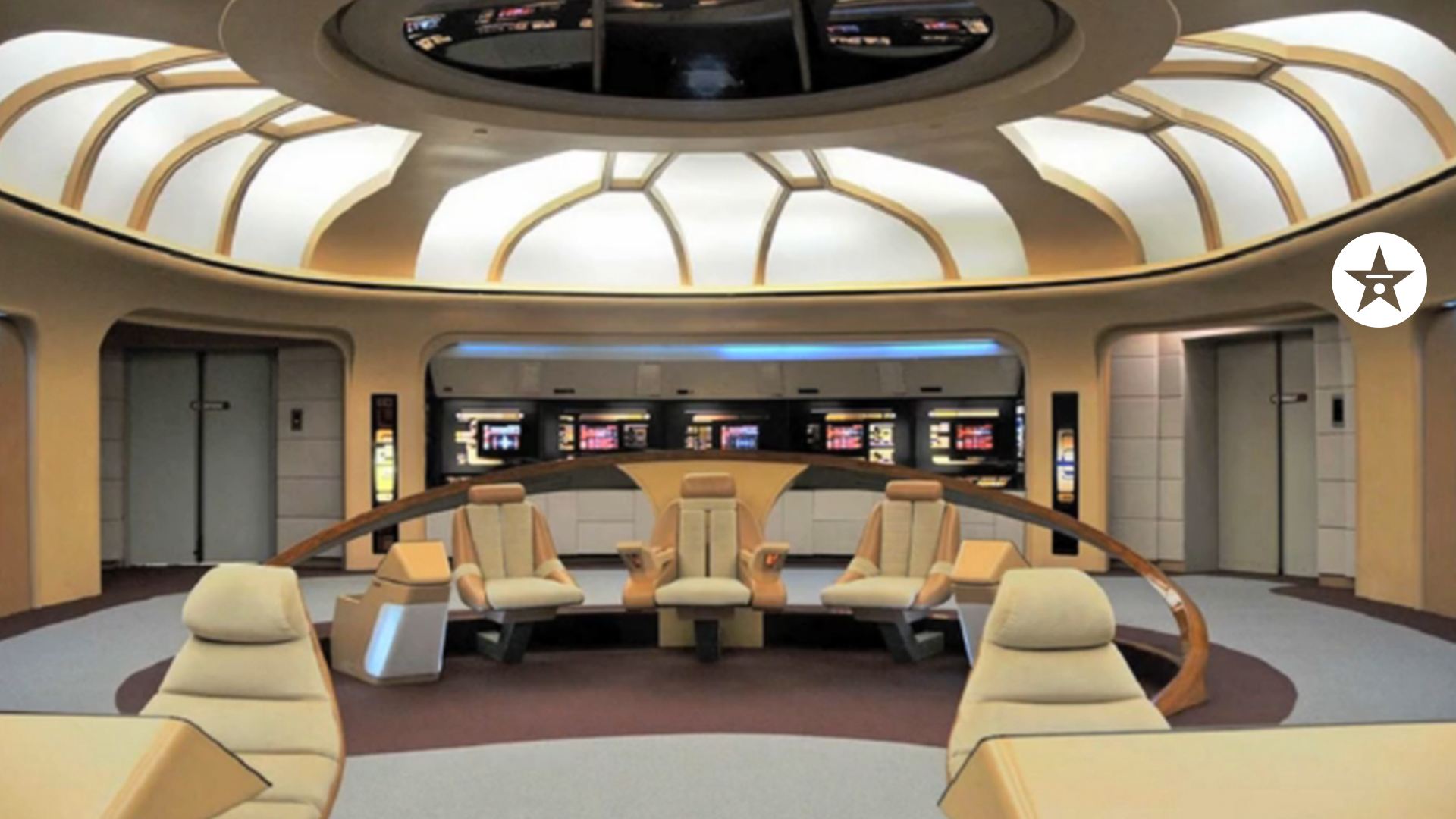 star trek bridge zoom background