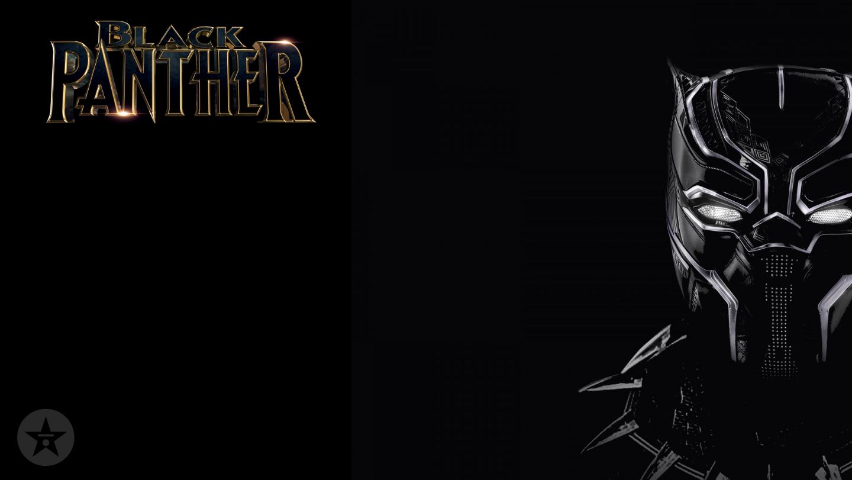 Black Panther artwork zoom background