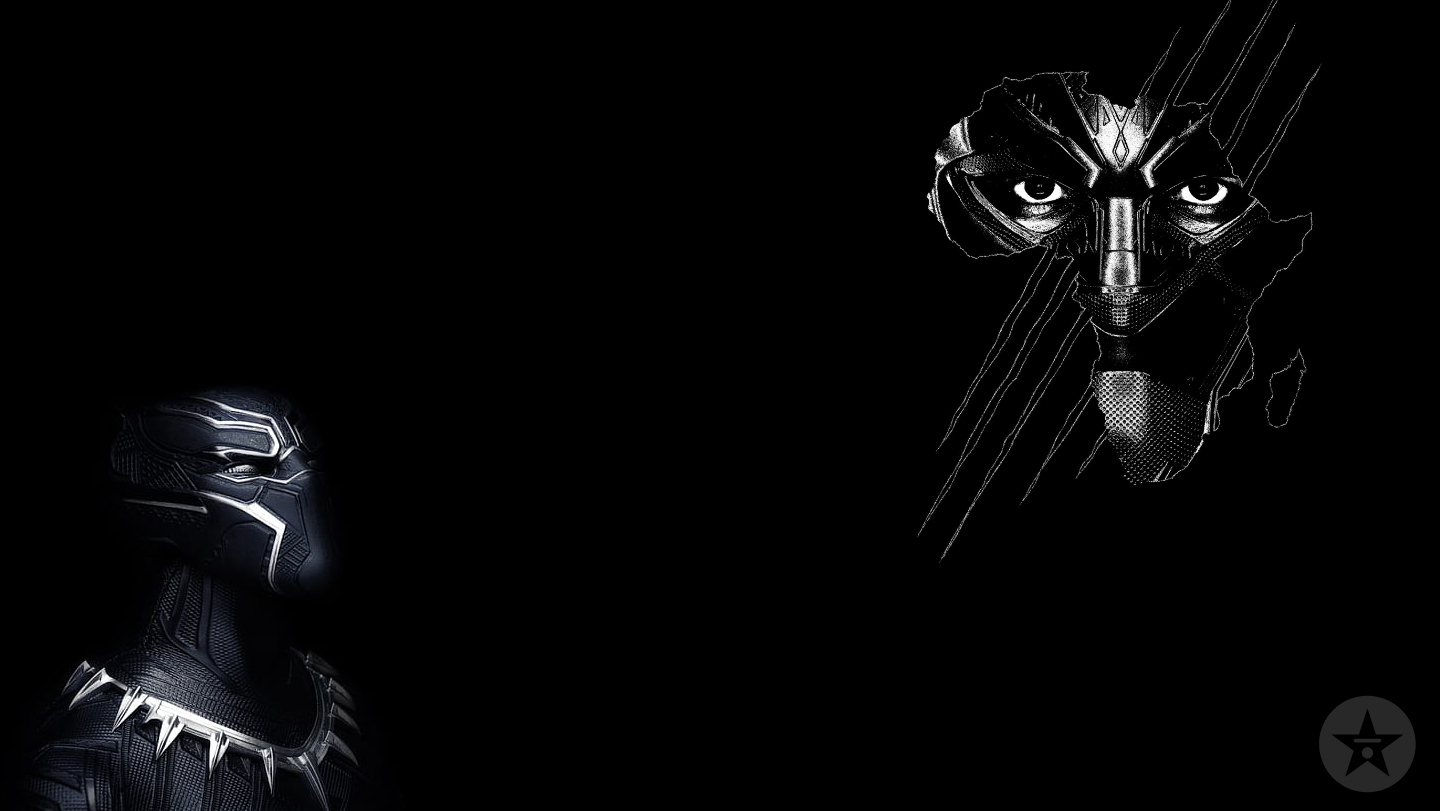 Black Panther africa background