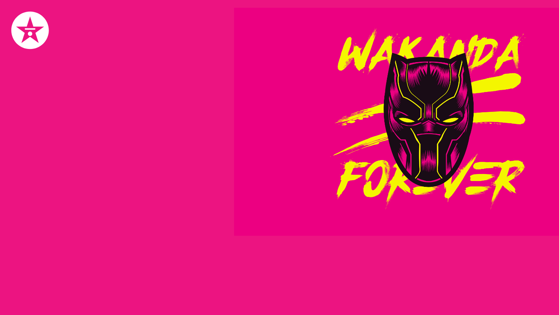 wakanda forever zoom background