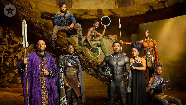 Black Panther cast background