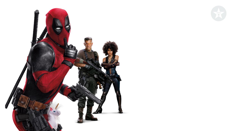 Deadpool buddies zoom background
