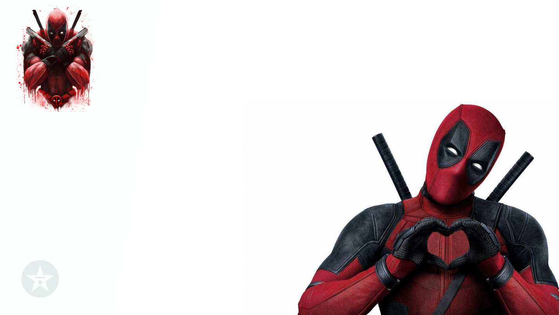Deadpool love zoom background