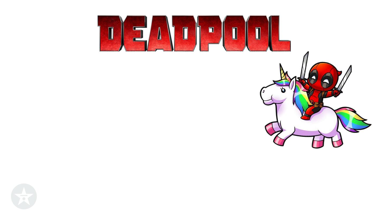 Deadpool unicorn background