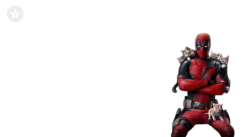 Deadpool loves kittens background