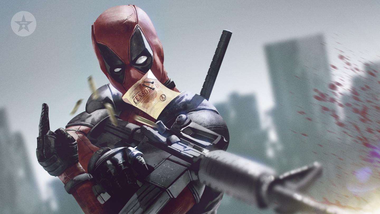 Deadpool Censor proof background