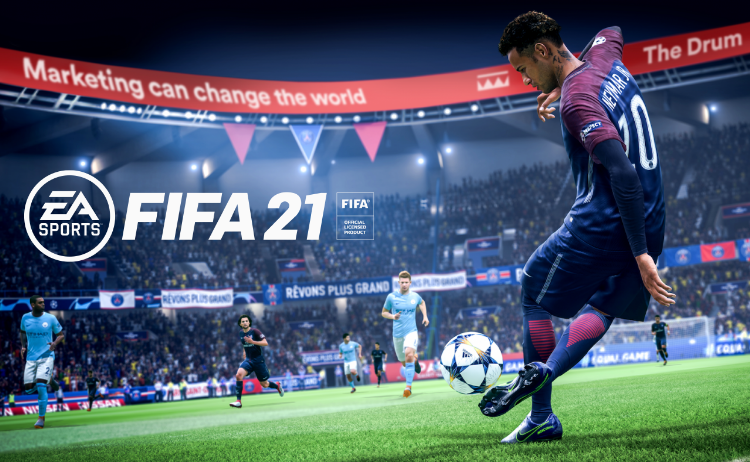 Marketing can change the world FIFA 21 In-game advertising