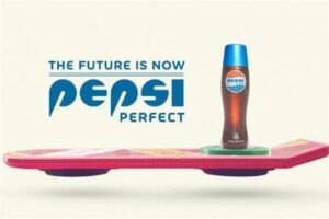 back to the future pepsi brand integration