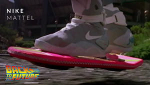 Nike mattel back to future