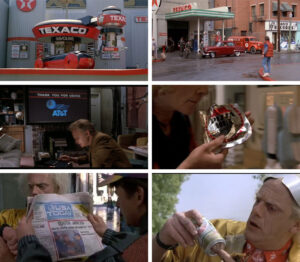 back to the future product placements